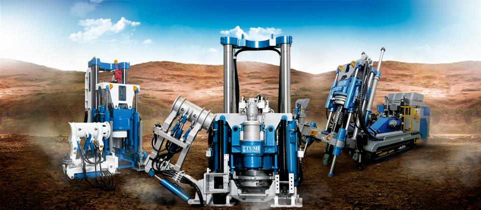 Las máquinas de TUMI han perforado más de 100.000 metros en todo el mundo